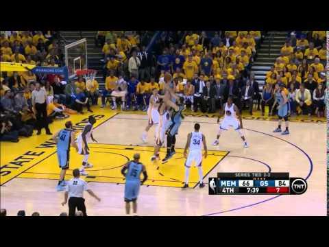 NBA, playoff 2015, Warriors vs. Grizzlies, Round 2, Game 5, Move 48, Marc Gasol, 2 pointer