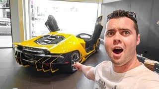 TAKING DELIVERY OF MY FRIEND'S NEW LAMBORGHINI!!!