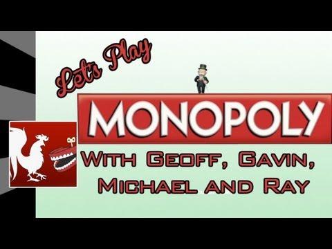 Achievement Hunter : Let's Play - Monopoly Part 1