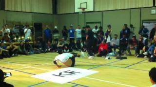 Bboy Lil G vs. Bboy Billy Boy | Peru Break La Batalla 2011
