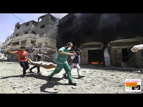 Gaza conflict: Five dead at hospital hit by Israeli strike
