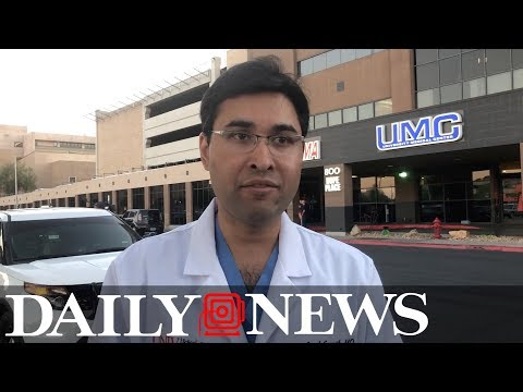 Doctor describes scene at hospital after Vegas shooting