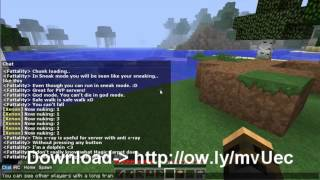 Minecraft Hacked Client [2013] (Xenon - Fly, X-ray, God Mode, Kill Aura, etc) {Free Download}