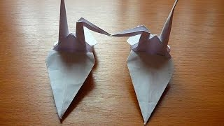 Swan Family Origami