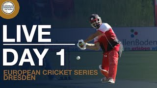 Live European Cricket Series Dresden, Germany, Day 1 Cricket Live Stream