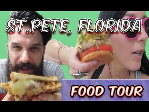 Eatin' St.Pete, Florida! (The Burg's Best) Food Tour - Central Melt, Bodega, Hawkers & Hyppo