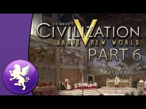 Let's Play Civilization 5: Brave New World - Venice - Part 6: Culture, Science and Friendship
