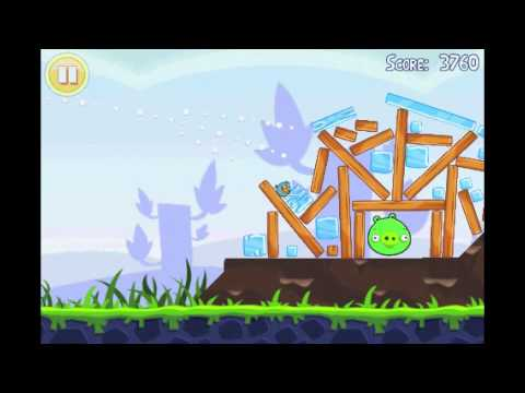 Angry Birds Lite | 3 Star Walkthrough | Level 6