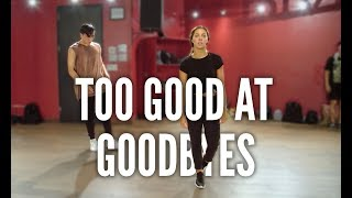 SAM SMITH - Too Good At Goodbyes | Kyle Hanagami Choreography