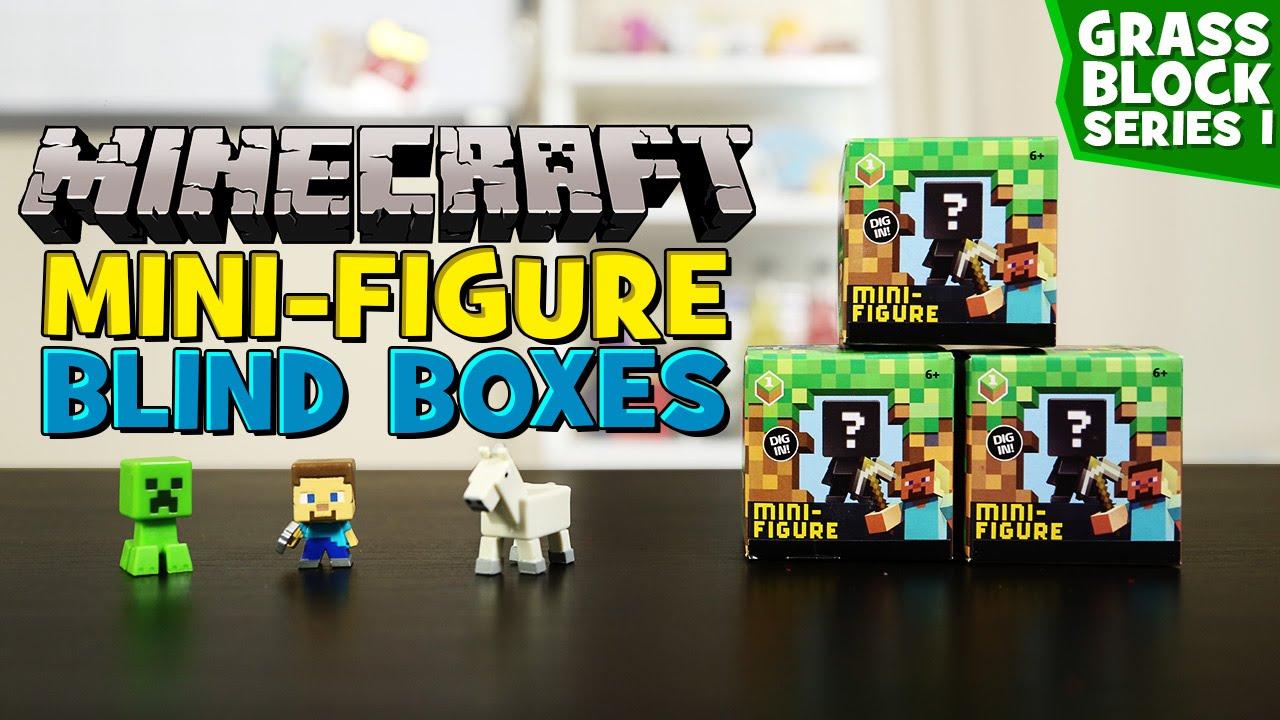 Minecraft Mini-figure Blind