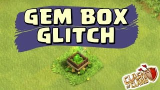 Clash of Clans - NEVER ENDING GEM BOX GLITCH (GHOST TREES GLITCH)