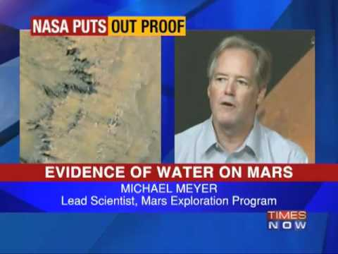 NASA: Evidence of water on Mars