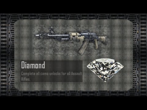Black Ops 2 - Assault Rifles - Diamante