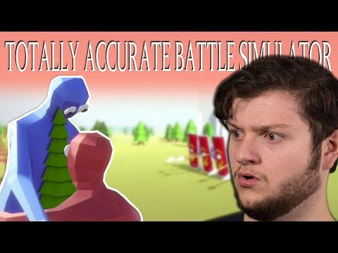 I BROKE THE GAME!   Totally Accurate Battle Simulator (Funny Moments)