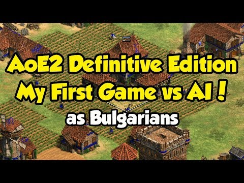 AoE2 Definitive Edition - My First game!