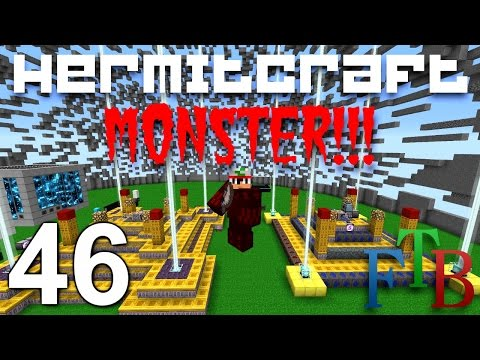 Minecraft Mod FTB Monster Hermitcraft Ep 46 - Blood Magic Armor !!! ( Modded Minecraft )