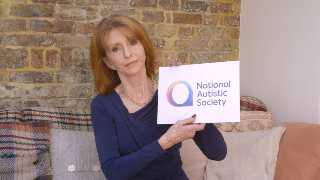 Jane Asher on the National Autistic Society's new spectrum logo