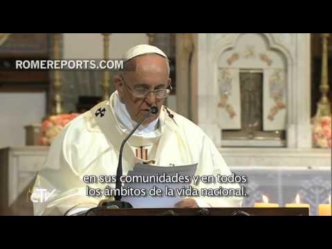 """Papa en Misa por reconciliación de las dos Coreas: """"El perdón conduce a la reconciliación"""""""
