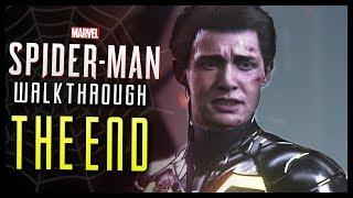 Spider Man PS4 Walkthrough Part 32 FINAL Boss FIGHT & Ending!