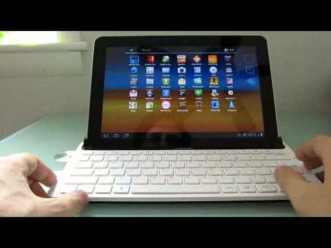 Samsung Galaxy Tab 10.1 keyboard dock