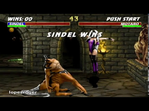 Mortal Kombat 3 -  Beating Motaro and Shao Kahn
