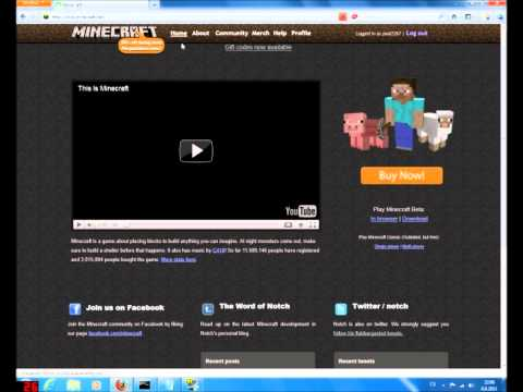 [Minecraft] How do legal Minecraft Account! FREE NO SURVEY,NO DOWNLOAD!!!