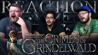 Fantastic Beasts: The Crimes of Grindelwald - Official Comic-Con Trailer REACTION!!