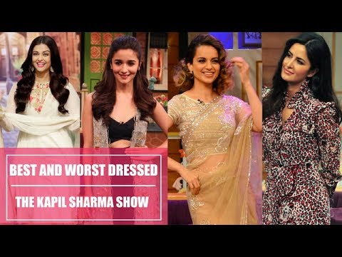 Best collection of Sxy celebrity on kapil sharma show.