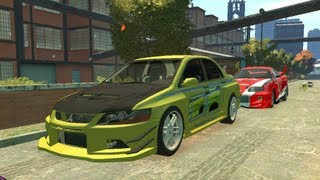 Fast And Furious Real Car GTA 4