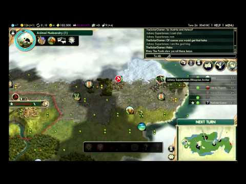 Civilization 5: Multiplayer Bnw - Ethiopia Ep. 1 fresh New Start video