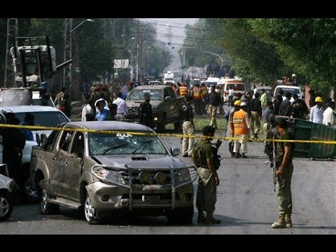 Suicide Bomber Hits Paramilitary Convoy in Pakistan's Peshawar