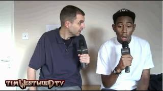 Tyler, The Creator Being A Hipster [Interview By TimWestwoodTV]