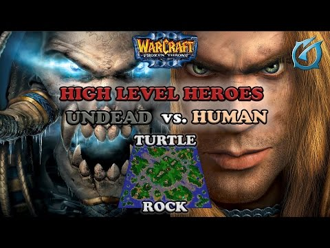 Grubby | Warcraft 3 The Frozen Throne | Undead vs. Human - High Level Heroes