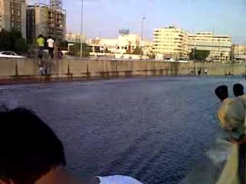 25 11 2009 raining Makkah Jeddah old road