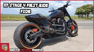 FXDR 117 Stage 4 First Ride Review