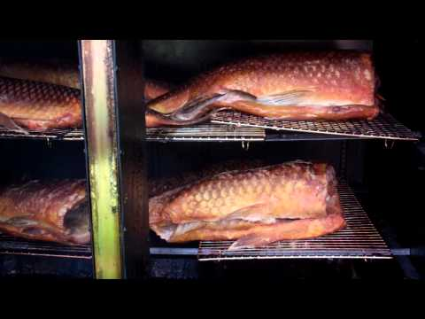 Smoked Buffalo Carp!.Perfectly Hickory Smoked!!! Yum Baby Yum!!!