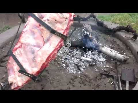 Costillar a la llama