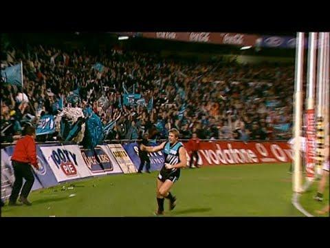AFL 2002 Qualifying Final Port Adelaide Vs Collingwood