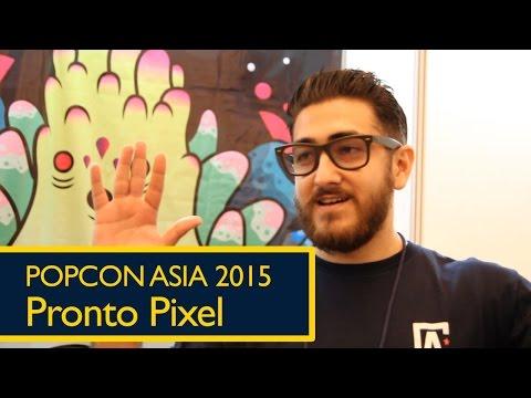 Popcon Asia 2015: Pronto Pixel