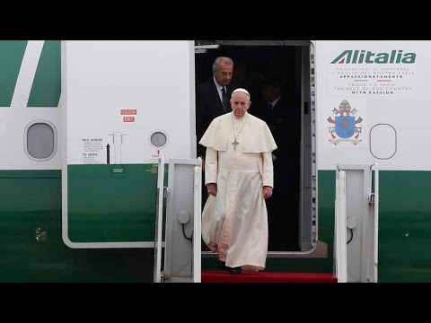 North Korea Fires Missiles As Pope Francis Visits South!!!