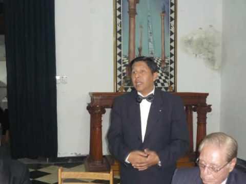 Gran Logia Ocidental del Peru - Iniciacion, de Armando Godinez y Manuel Rodriguez. condecoraciones