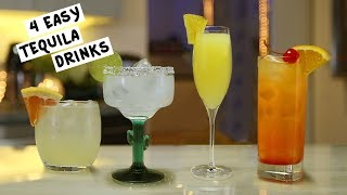 Four Easy Tequila Drinks
