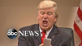 Donald Trump, Alec Baldwin Tweet Over Continuing 'SNL' Skits