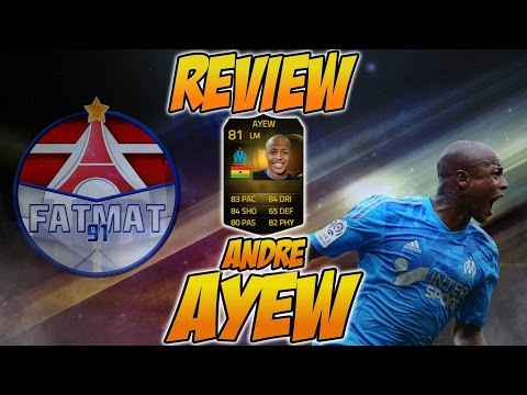 FUT15 | Player Review | André Ayew SIF (MG : 81) ! [FR]
