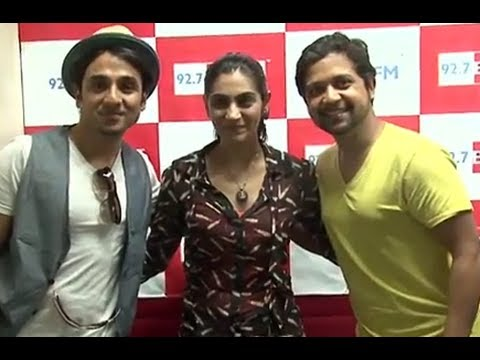 Vir Das & Anand Tiwari Promote 'Go Goa Gone' At Radio Stations