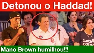Análise: Mano Brown DETONA o PT na cara do HADDAD kkkkkk