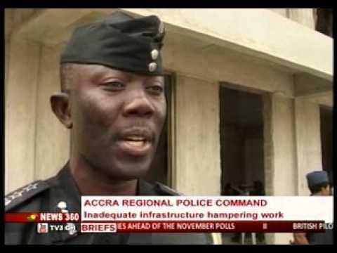 News360-Accra Police  call for help  to improve the infrustrature to increse productivity-31/1/2016