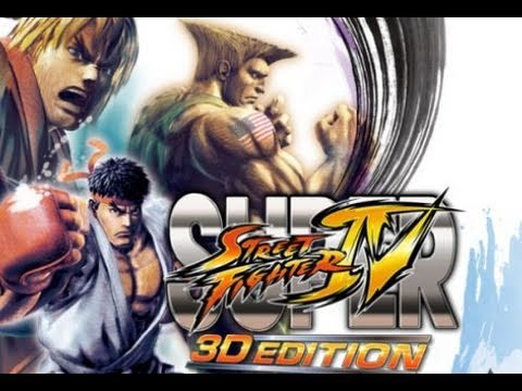 Super Street Fighter IV 3D Video Review