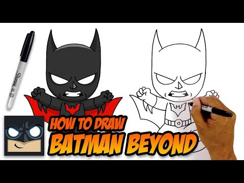 How to Draw Batman Beyond | Step-by-Step Tutorial