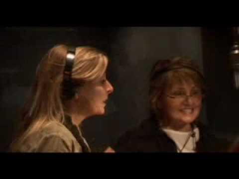 Kelly ter Horst bij opnames voor Sky Radio @ Dallas, USA